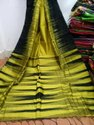 Festive Wear Handloom Cotton Silk Saree With Blouse Piece