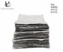 Handmade Paper, Fine-Cut, A4 Size-Light Grey