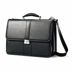 Blue Plain Office Bags