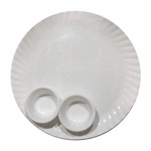White Melamine Plate Set Size 5-13 Inch  sc 1 st  IndiaMART & White Melamine Plate Set Size: 5-13 Inch Rs 110 /set | ID: 17619387612