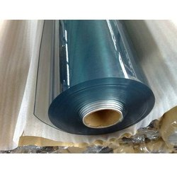 W.S.I Transparent Super Clear Flexible PVC Film, Size: 0.04 Mm To 3mm, Packaging Type: Roll
