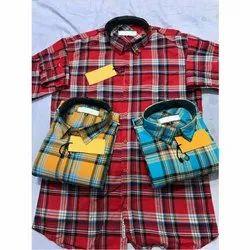 Optional Cotton Mens Casual Shirt