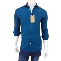 faf700b72da Collar Neck Plain Gents Cotton Shirts