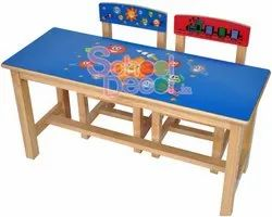 Nursery School Chair And Table Set. SQ-021