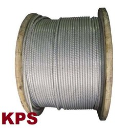 Galvanised Wire Rope PVC Coated