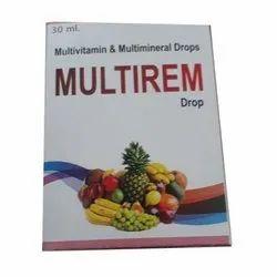 Liquid Multivitamin And Multi Mineral Multivitamin And Multimineral Drops, 30 Ml, Prescription