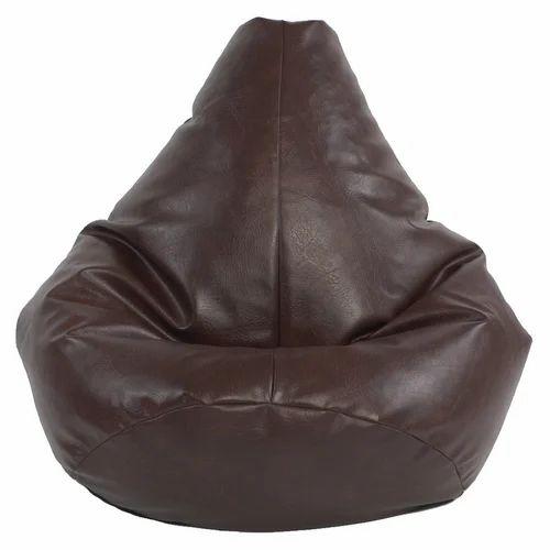 Wondrous Leather Bean Bag Pabps2019 Chair Design Images Pabps2019Com