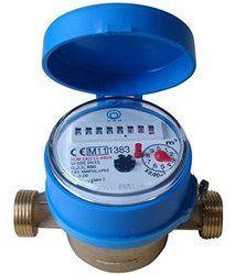 DASMESH 15mm Single Jet Screwed Class B Water Meter
