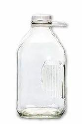 Clear Glass Jar for Pharma