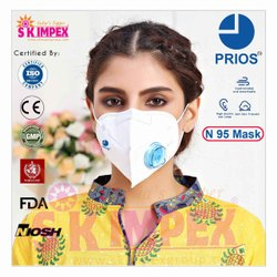 Reusable N 95 face mask, Number of Layers: 6