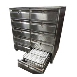 10 Drawer SS Punch Die Cabinet