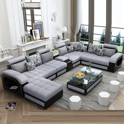 Skf Decor Living Room L Shaped Sofa