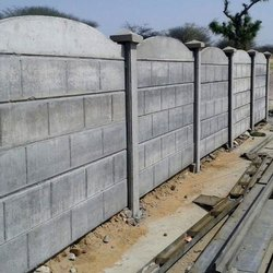 RCC Concrete Wall Boundary