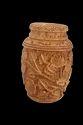 Wooden Carved Flask