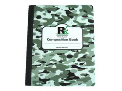 Military Marble Design Composition Notebook