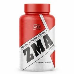 MB Muscle Builder ZMA With Zinc Magnesium And Vitamin B6 60 Capsules 2 Capsules Per Serving
