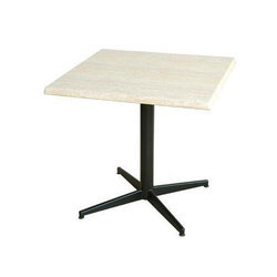 Remtech Engineering Wood Cafeteria Square Table, Size: 2feet X 2feet X 2.5feet Height