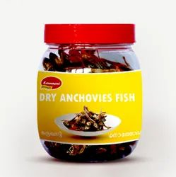 Dry Anchovies Fish With Head