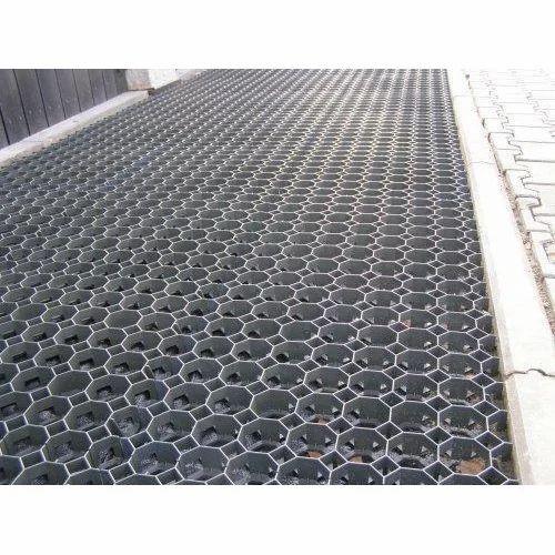 Black Concrete Grass Grid Paver, for Flooring