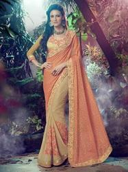Marble and Georgette Saree