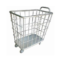 Stainless Steel Ss Linen Trolley