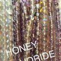 Honey Floarite Beads