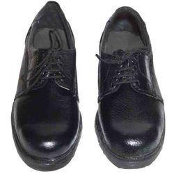 Black Metro Safety Shoes Dzire, Size: 7.0