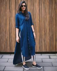 Blue Kurti