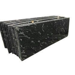 Black Granite Slab for Flooring, Thickness: 5-20 mm