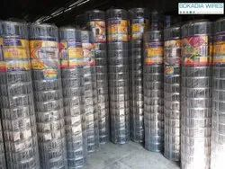 Mild Steel Welded Joint GI Welded Wire Mesh, Thickness: 2.00mm To 6.00mm, Material Grade: Mild Steel
