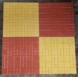 Royal Check Parking Tiles
