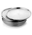 Stainless Steel Eating Plate