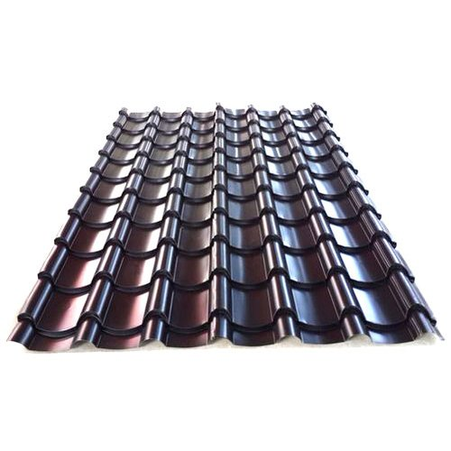 Brown GI Glazed Roof Tile, PackaGIng Type: Box