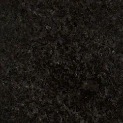 Jet Black Granite Slab, 1-60 Mm