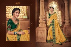 Motifs And More Vol 9 10901-10916 Series Exclusive Designs Of Sarees For Diwali 2019