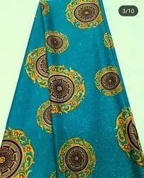 African Italian Silk Fabric, GSM: 100-150