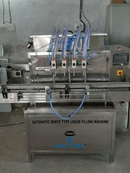 Packwell Automatic High Speed Hand Sanitizer Filling Machine