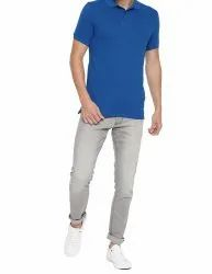 Plain and Printed Polo Neck T-shirts