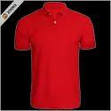 Zooks Half Sleeve Collar Poly Matty T Shirt, Size: S - Xxl