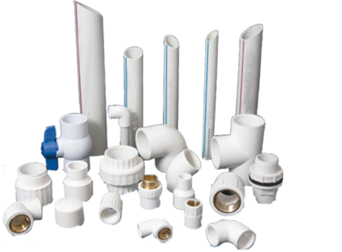 Prince  UPVC Easy Fit Pipes and Fittings, Size: 6 inch