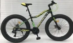 Spinx Fatty 26T 21 Speed Black Neon Green Bicycle