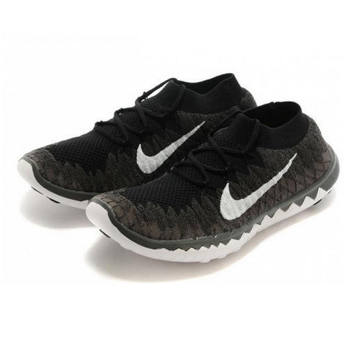 4e7f7b296974 Nike Free 3.0 Flyknit Black Running Shoes