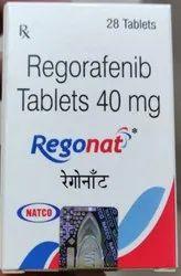 Regorafenib 40 Mg Tablets