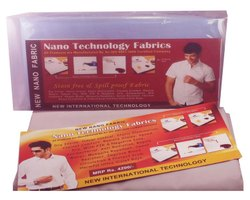 Cotton White Nano Fabric Shirt, Size: 2.5 Mitr