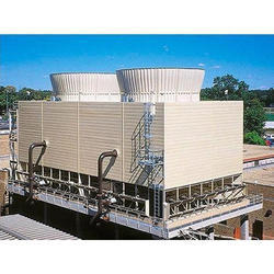 FRP Three Phase Induced Draft Cooling Tower, 1000 Kw