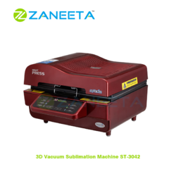 3D Sublimation Vacuum Printing Machine ST 3042