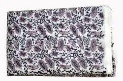 Hand Block Printed Cotton Fabric Indian Fabric Sanganeri Print