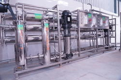 Stainless Steel Reverse Osmosis Systems, RO Capacity: 100000 LPH