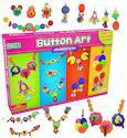 Petals Boys, Girls Button Art Jewellery Kit