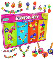 Button Art Jewellery Kit